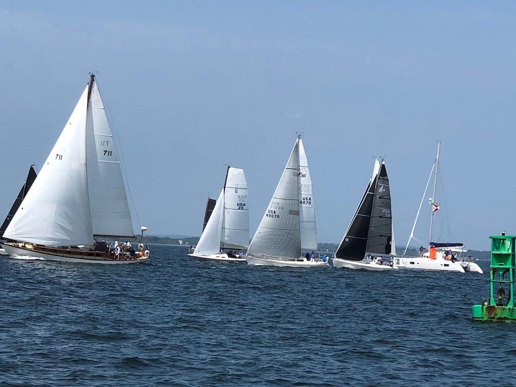 The Around Aquidneck Island Race