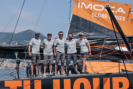 11th Hour Racing Team Finishes Second in The Ocean Race Europe