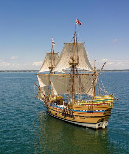 Mayflower II Receives Paul & Niki Tsongas Award