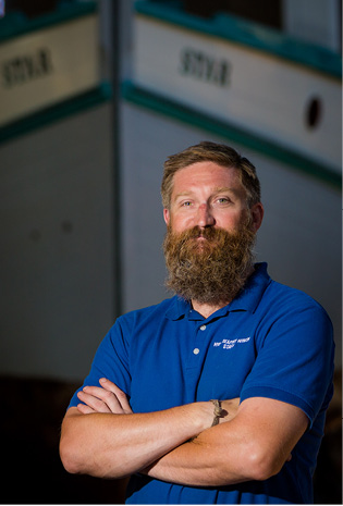 New Director of the Henry B. duPont Preservation Shipyard